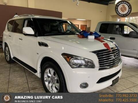 2014 Infiniti QX80 for sale at Amazing Luxury Cars in Snellville GA