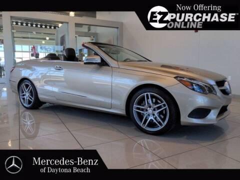 2015 Mercedes-Benz E-Class for sale at Mercedes-Benz of Daytona Beach in Daytona Beach FL