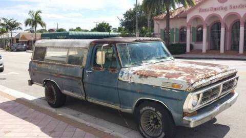 1972 Ford F-250 for sale at Classic Car Deals in Cadillac MI