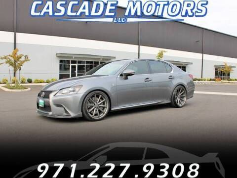 2013 Lexus GS 350 for sale at Cascade Motors in Portland OR