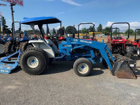 2001 New Holland 2120 for sale at DirtWorx Equipment - Used Equipment in Woodland WA