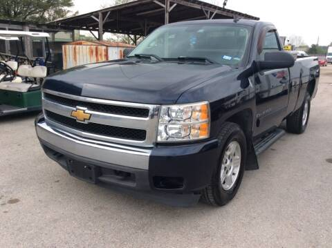 2007 Chevrolet Silverado 1500 for sale at OASIS PARK & SELL in Spring TX