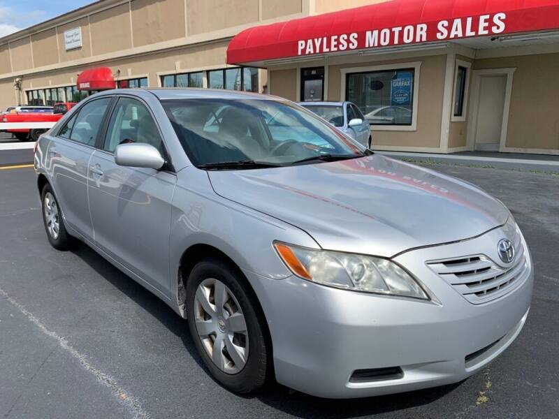 2007 Toyota Camry for sale at Payless Motor Sales LLC in Burlington NC