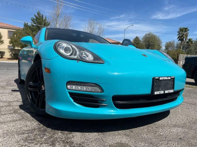 2011 Porsche Panamera for sale at Boktor Motors in Las Vegas NV