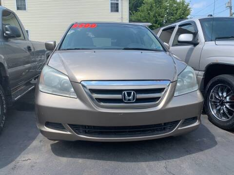 2007 Honda Odyssey for sale at PUTNAM AUTO SALES INC in Marietta OH