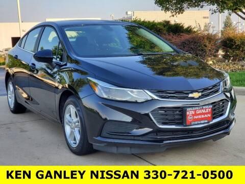 2018 Chevrolet Cruze for sale at Ken Ganley Nissan in Medina OH
