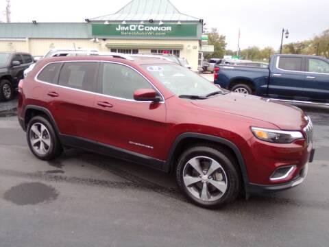 2019 Jeep Cherokee for sale at Jim O'Connor Select Auto in Oconomowoc WI