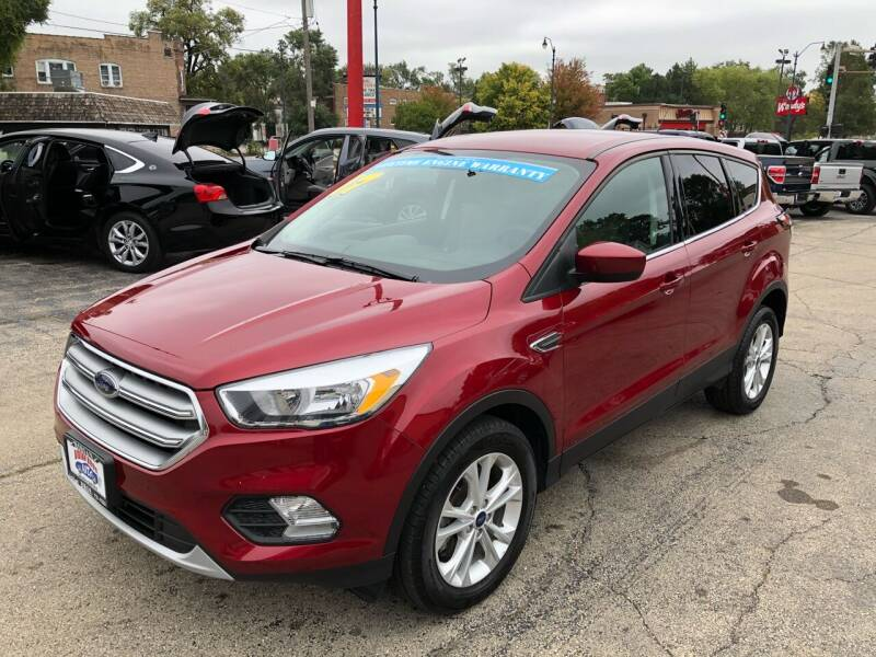 2017 Ford Escape for sale at Bibian Brothers Auto Sales & Service in Joliet IL