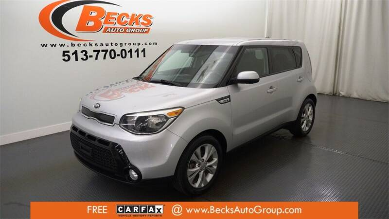 2016 Kia Soul for sale at Becks Auto Group in Mason OH