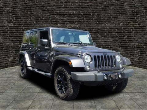 2018 Jeep Wrangler JK Unlimited for sale at Ron's Automotive in Manchester MD