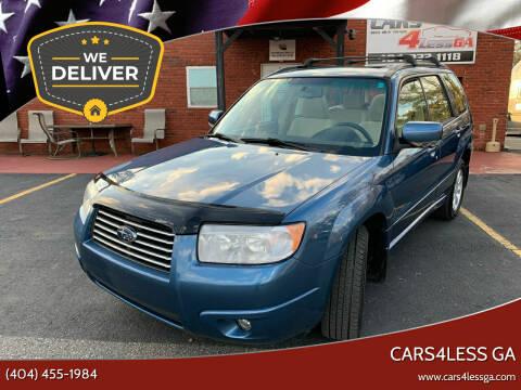 2008 Subaru Forester for sale at Cars4Less GA in Alpharetta GA