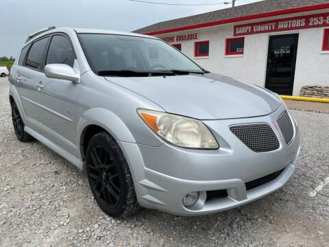 2007 Pontiac Vibe for sale at Sarpy County Motors in Springfield NE