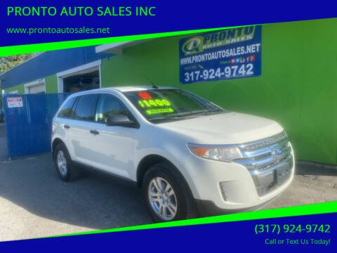 2011 Ford Edge for sale at PRONTO AUTO SALES INC in Indianapolis IN