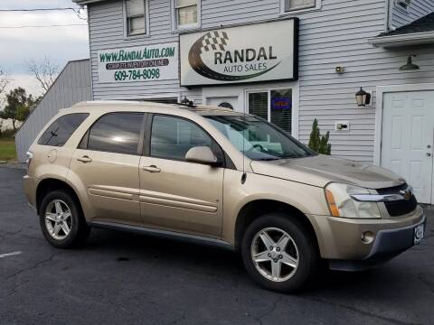 2006 Chevrolet Equinox for sale at Randal Auto Sales in Eastampton NJ