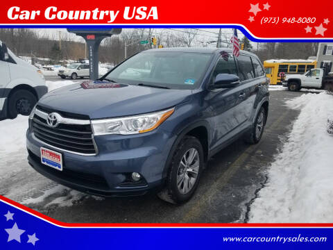 2015 Toyota Highlander for sale at Car Country USA in Augusta NJ