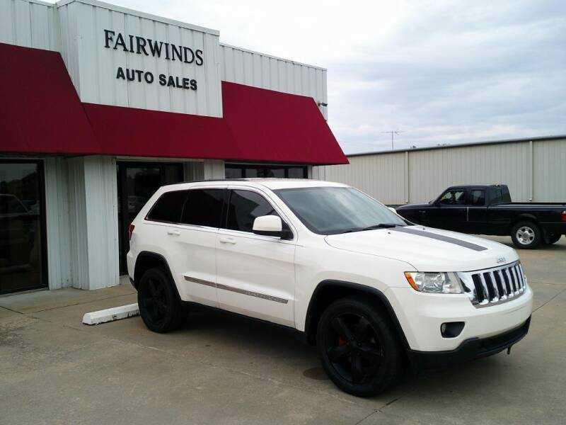 2012 Jeep Grand Cherokee for sale at Fairwinds Auto Sales in Dewitt AR