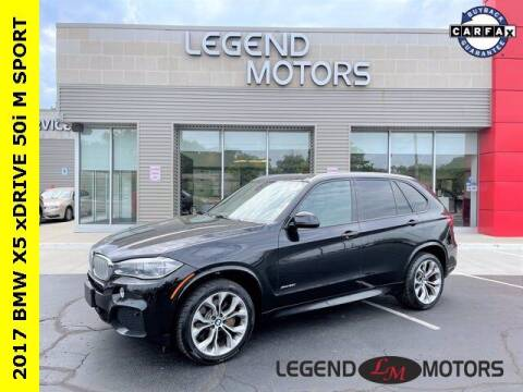 2017 BMW X5 for sale at Legend Motors of Waterford in Waterford MI