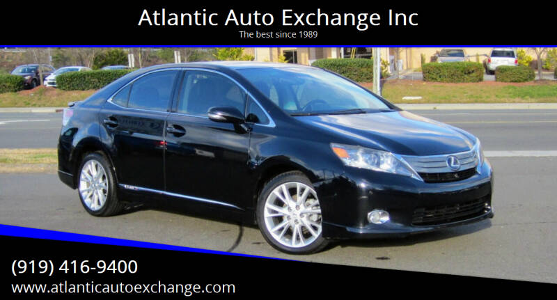 2010 Lexus HS 250h for sale at Atlantic Auto Exchange Inc in Durham NC