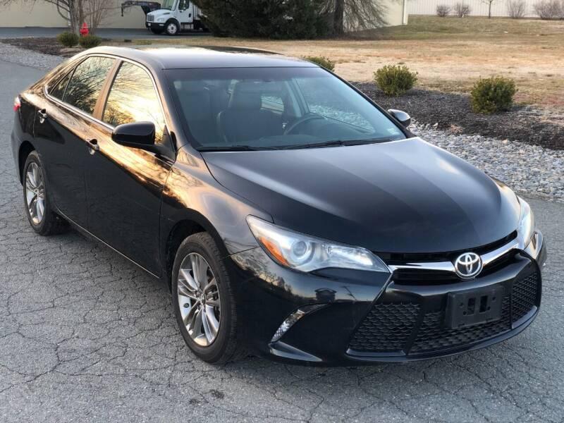 2017 Toyota Camry for sale at ECONO AUTO INC in Spotsylvania VA