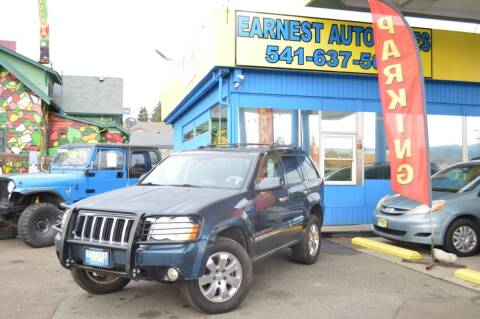 2010 Jeep Grand Cherokee for sale at Earnest Auto Sales in Roseburg OR