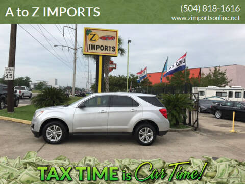 2015 Chevrolet Equinox for sale at A to Z IMPORTS in Metairie LA