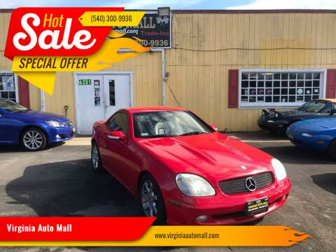 2003 Mercedes-Benz SLK for sale at Virginia Auto Mall in Woodford VA