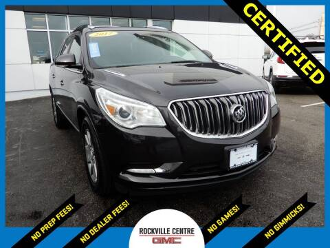 2017 Buick Enclave for sale at Rockville Centre GMC in Rockville Centre NY