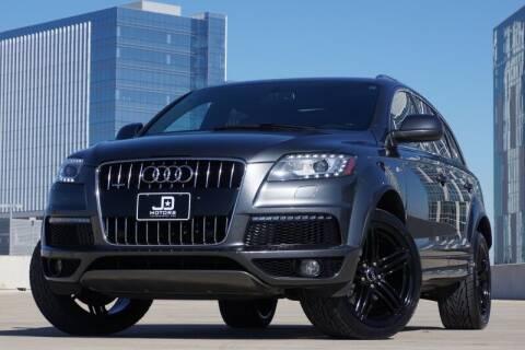 2014 Audi Q7 for sale at JD MOTORS in Austin TX