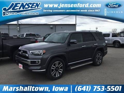 2017 Toyota 4Runner for sale at JENSEN FORD LINCOLN MERCURY in Marshalltown IA