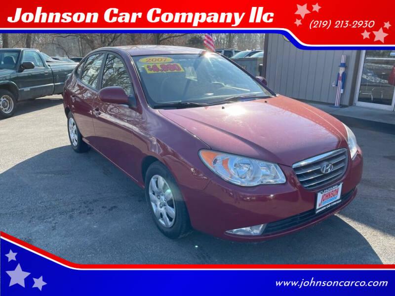 2007 Hyundai Elantra for sale at Johnson Car Company llc in Crown Point IN