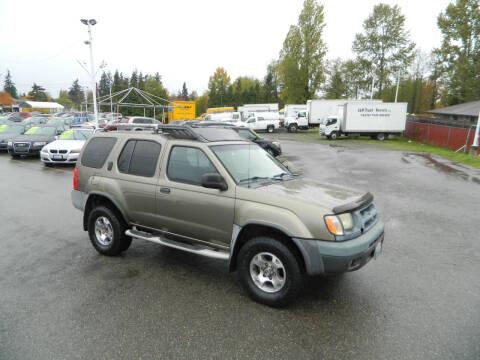 2001 Nissan Xterra for sale at J & R Motorsports in Lynnwood WA