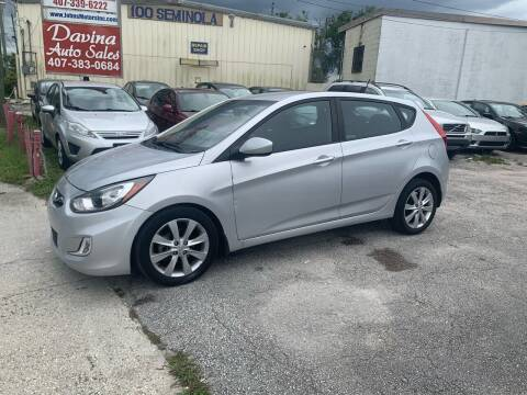 2012 Hyundai Accent for sale at DAVINA AUTO SALES in Orlando FL