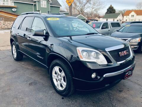 2008 GMC Acadia for sale at SHEFFIELD MOTORS INC in Kenosha WI