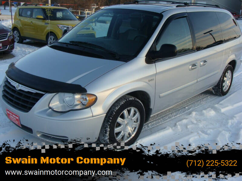 2005 Chrysler Town and Country for sale at Swain Motor Company in Cherokee IA