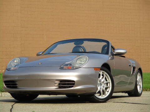 2003 Porsche Boxster for sale at Autohaus in Royal Oak MI