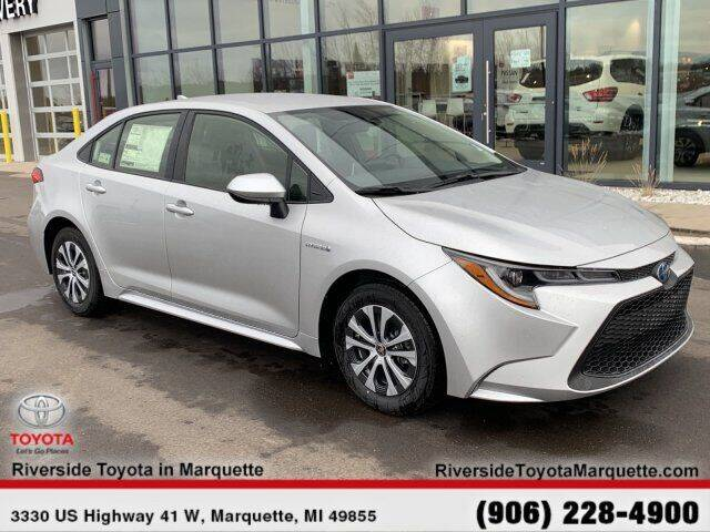 2020 Toyota Corolla Hybrid for sale in Marquette, MI