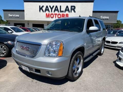2010 GMC Yukon for sale at KAYALAR MOTORS in Houston TX