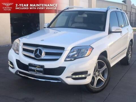 2014 Mercedes-Benz GLK for sale at European Motors Inc in Plano TX