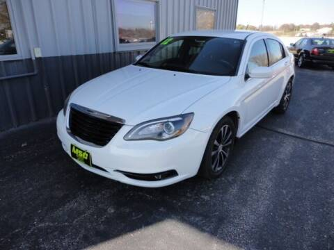 2012 Chrysler 200 for sale at Moss Service Center-MSC Auto Outlet in West Union IA