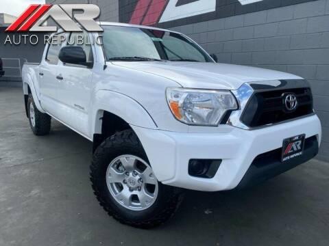 2015 Toyota Tacoma for sale at Auto Republic Fullerton in Fullerton CA