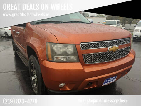 2008 Chevrolet Avalanche for sale at GREAT DEALS ON WHEELS in Michigan City IN
