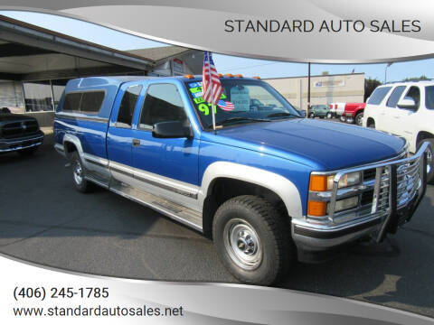 1997 Chevrolet C/K 2500 Series for sale at Standard Auto Sales in Billings MT