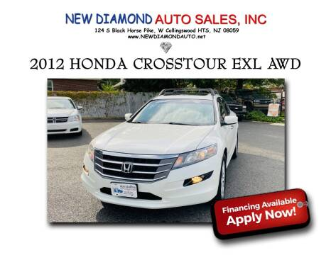 2012 Honda Crosstour for sale at New Diamond Auto Sales, INC in West Collingswood Heights NJ