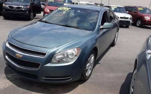 2009 Chevrolet Malibu for sale at Mathews Used Cars, Inc. in Crawford GA