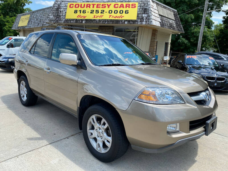 2005 Acura MDX for sale at Courtesy Cars in Independence MO