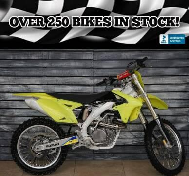 2015 Suzuki RM-Z450L5 for sale at AZautorv.com in Mesa AZ
