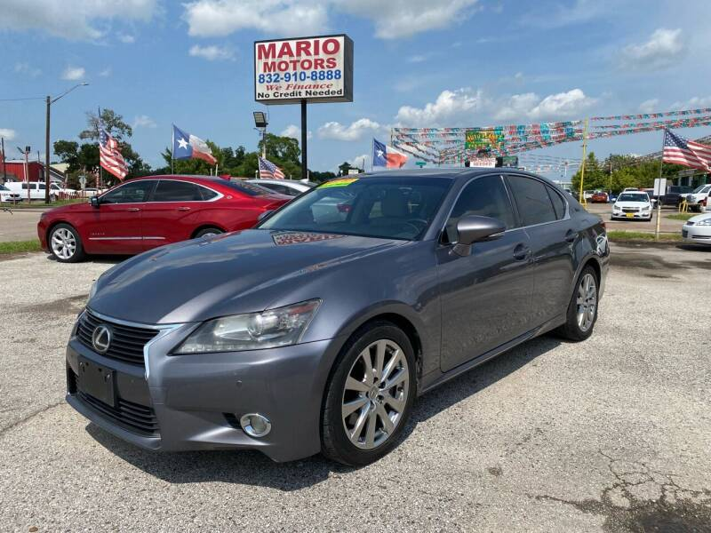 2013 Lexus GS 350 for sale at Mario Motors in South Houston TX
