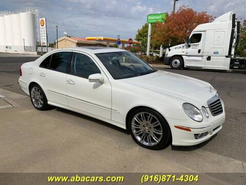 2007 Mercedes-Benz E-Class for sale at About New Auto Sales in Lincoln CA