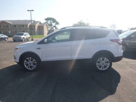2018 Ford Escape for sale at JIM WOESTE AUTO SALES & SVC in Long Prairie MN