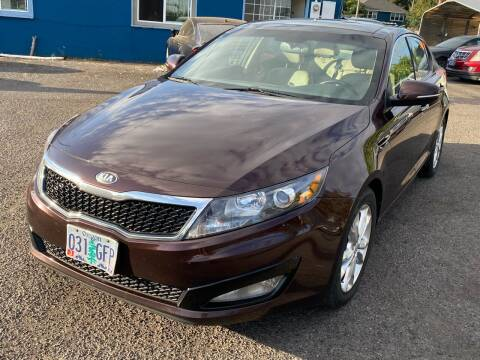 2013 Kia Optima for sale at JZ Auto Sales in Happy Valley OR